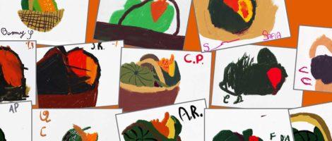 Segno e colore. I trucchi dell'artista per costruire la realtà. Speciale Halloween: teschi e zucche