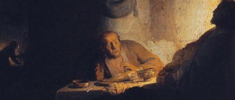 Speciale ospite. La <em>Cena in Emmaus</em> di Rembrandt